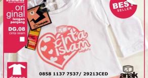 Jual Kaos Anak Muslim Babytofu di Tangerang