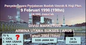 Jasa Travel Umroh dan HAJI plus Murah di Jakarta